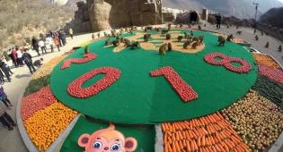מסיבה מיוחדת בסין: ראש השנה לקופים