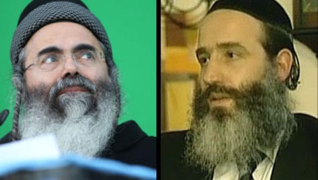 """""""הוא מפחיד אותי"""" הרבנים יצחק ופנגר"""