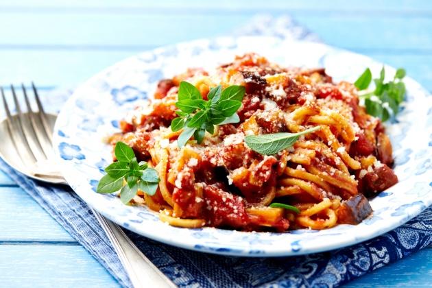 ספגטי ברוטב בולונז פרווה