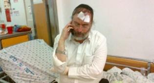 גרוסמן בבית החולים