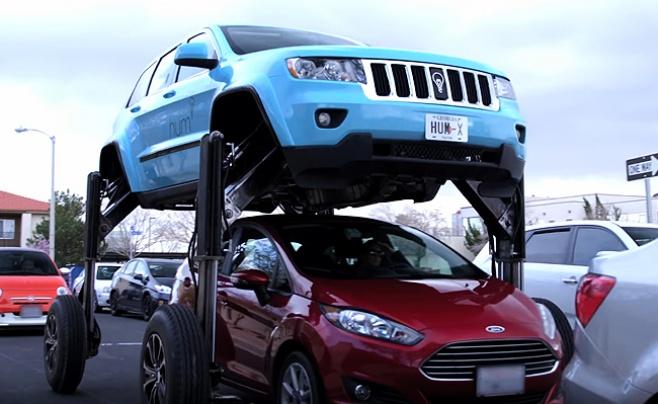 האם נמצא הרכב שיצליח להתמודד עם פקקי התנועה?