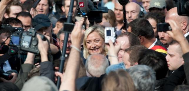 מנהיגת הימין הקיצוני בצרפת מרין לה פן