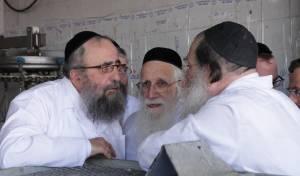 """רבני """"שארית ישראל"""" במשחטה"""