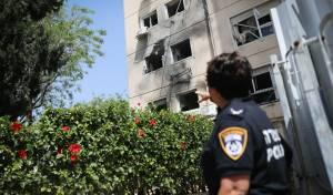 תיעוד: הנזק מהפגיעה ישירה בעיר אשקלון