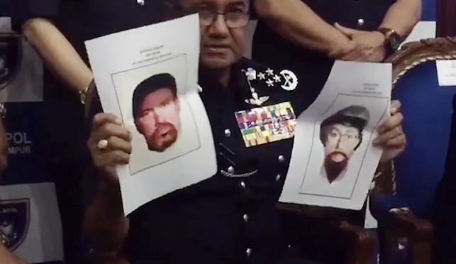 המשטרה מציגה את החשודים