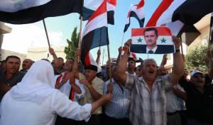 פלסטינים תומכים באסד, ארכיון