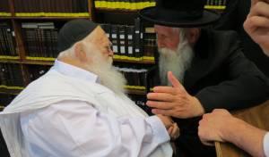 הרב גרוסמן אצל שר התורה
