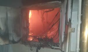 בית הכנסת של הרב גשטטנר עלה בלהבות