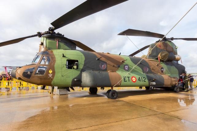 מסוק צ'ינוק CH-47. אילוסטרציה