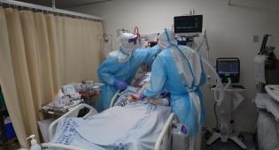 הצצה ל'מחלקת הקורונה' העמוסה בחולים