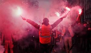 הפגנות בצרפת. ארכיון