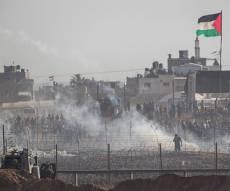 המהומות בגבול עזה