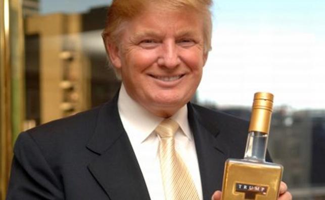טראמפ ומותג הוודקה שלו