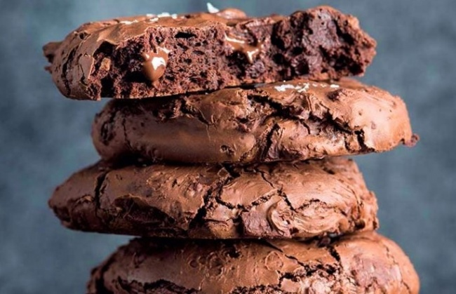 עוגיות קקאו ממכרות ללא גלוטן
