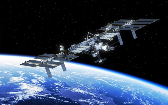 הדמייה של תחנת החלל הבינלאומית