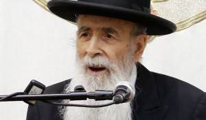 הגאון רבי יהודה עדס. ארכיון