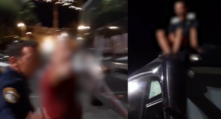 """טבריה: בן 16 נתפס """"על חם"""" פורץ לאוטובוס"""