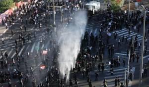 הפגנת 'הפלג' בירושלים: עימותים עם שוטרים; 22 עצורים