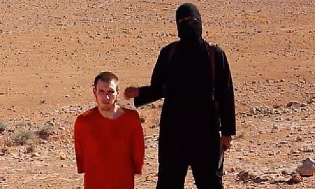 פיטר קסיג בידי דאעש