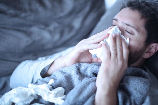 ירידה דרמטית במספר החולים בשפעת