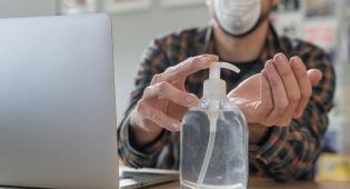 חיפוש עבודה קורונה מסיכה מחשב