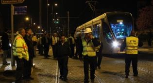 הרכבת הקלה . אילוסטרציה - מניע גזעני: יהודים תקפו ערבי ברכבת הקלה