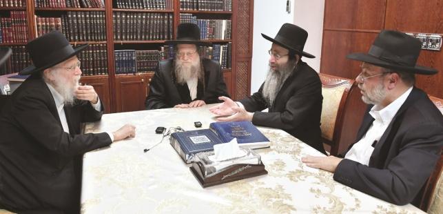"""האדמו""""ר, הרבנים ועורך 'יתד'"""