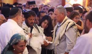 הדמעות זלגו - בברית של יוסף סלומון הקטן