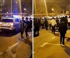 עשרות מנעו מעצר עריק והפגינו מול ראשי