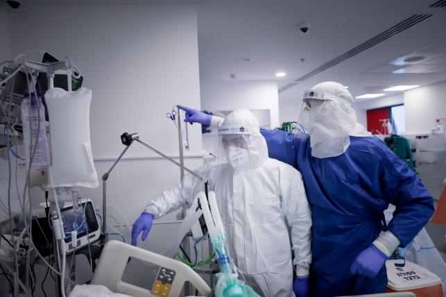 צוותי הרפואה בסכנה בגלל המיגון מ'קורונה'
