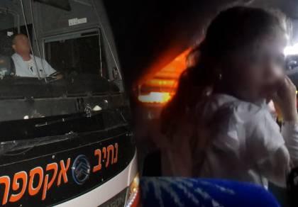 """הנהג, וילדה מבוהלת מהתנהגותו - הנהג האלים הורחק מ""""קווי הציבור החרדי"""""""