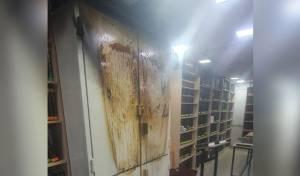 ארון הקודש בבית הכנסת בבני ברק