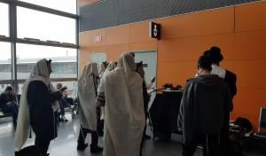 חדש: ספר תורה - בנמל התעופה בקייב • צפו