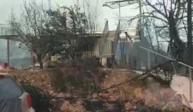 המושב של קרליבך נשרף; התושבים אבודים