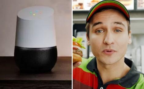 המוכר שהופיע בפרסומת של הרשת - גאוני: הפרסומת להמבורגרים השתלטה על הרמקולים