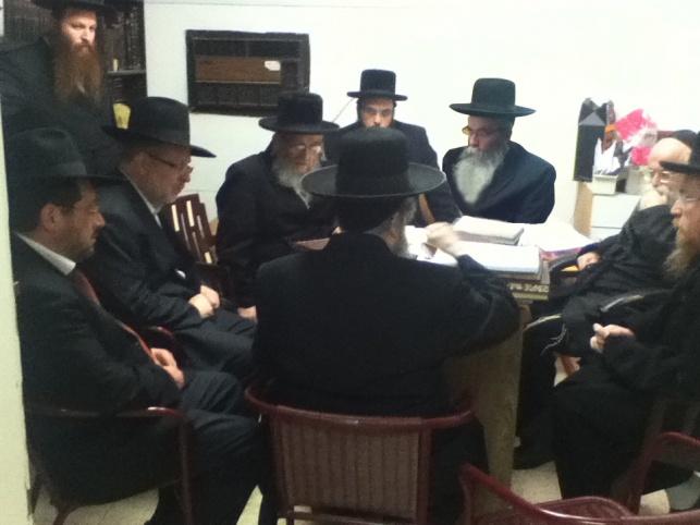 רבני הקריות במפגש עם ראשי הנהלת מכבי
