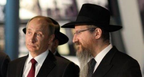 הרב לאזאר עם הנשיא פוטין