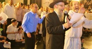 אברהם פריד שימח בישיבת רמת גן • צפו