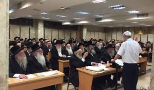 מאות הרבנים בכינוס של מכבי.