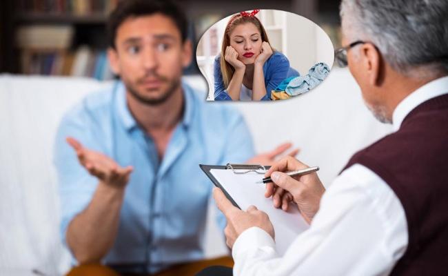 דוקטור, אשתי לא עובדת... - אשתי לא עובדת!  • שיחה בין בעל לפסיכולוג