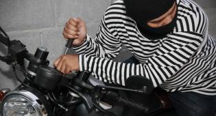 האופנוע הגנוב סייע במרדף אחר הגנב שלו