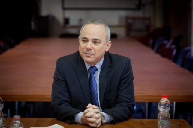 """יו""""ר הוועדה השר יובל שטייניץ"""