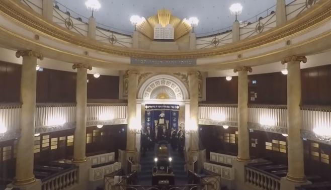 להקת מפתח סול בבית הכנסת הגדול בוינה