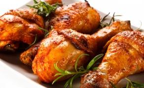 עוף בתנור בציפוי רוטב פיקנטי חגיגי