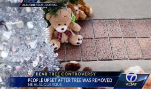 רב דרש להסיר עץ נוצרי וספג הערות אנטישמיות