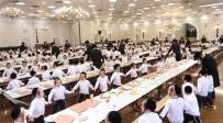 500 מאות ילדי סאטמר במסיבת חומש אחת