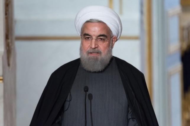 נשיא איראן רוחני