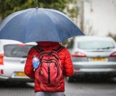 התחזית: גשם בכל אזורי הארץ; שלג בחרמון