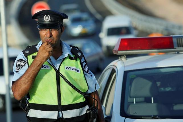 שוטר תנועה, אילוסטרציה