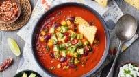 מרק עגבניות מקסיקני